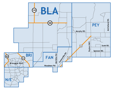 Briargate Colorado Springs Map