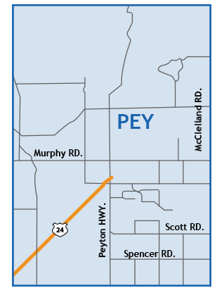peyton Colorado Springs Map