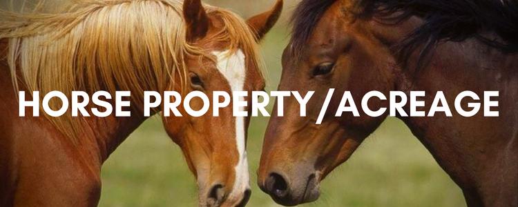 Acreage Horse Property For Sale