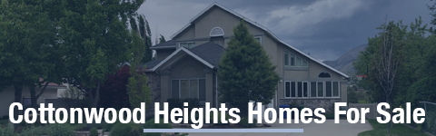 Homes For Sale In Cottonwood Heights