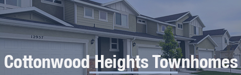 Townhomes For Sale In Cottonwood Heights