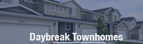 Townhomes For Sale In Daybreak