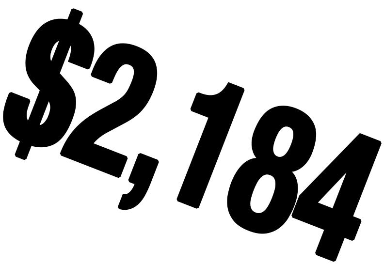 $2184