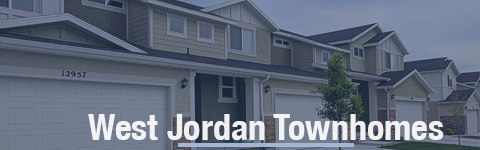 Townhomes For Sale In West Jordan