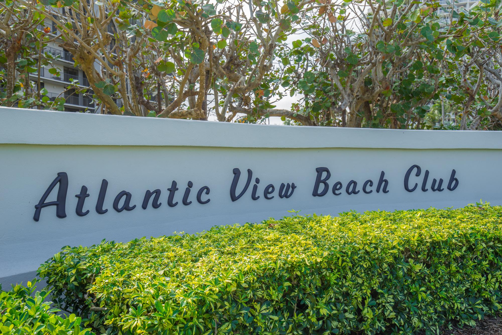 Atlantic View Beach Club - Hutchinson Island - Oceanside Realty Partners