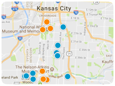 Kansas City Area Real Estate Map Search