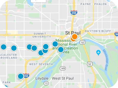 Twin Cities Real Estate Map Search