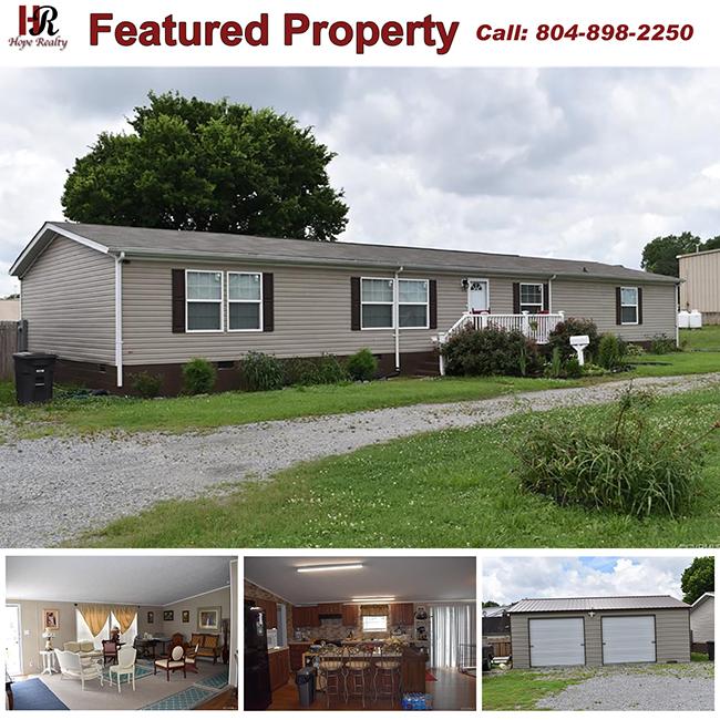 Home for sale in Emporia Virginia