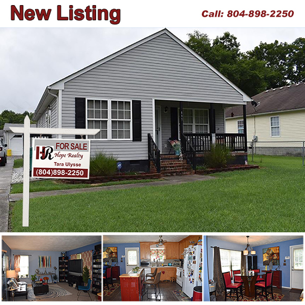 New Listing in Waverly Virginia