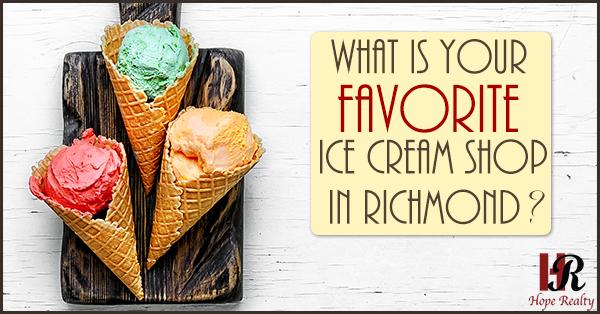 Ice Cream in Richmond VA