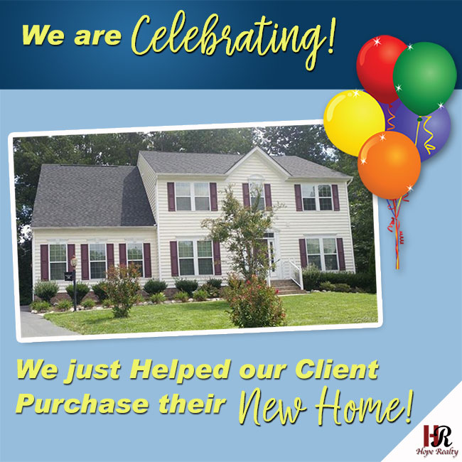 Celebrating our clients new home