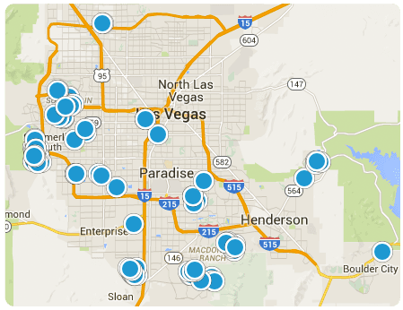 Search Las Vegas Homes By Map