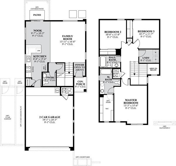 Dr horton floor plans albuquerque for New mexico home designs
