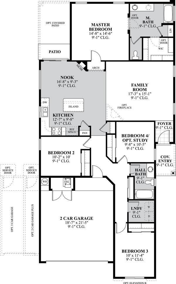 floorplans - D R Horton Homes Floor Plans 3 Bedroom