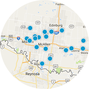 Edinburg Real Estate Map Search