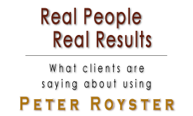 Peter Royster' Client Success Stories