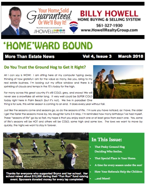 Homward Bound March - Your Referrals Really Do Help The Kids