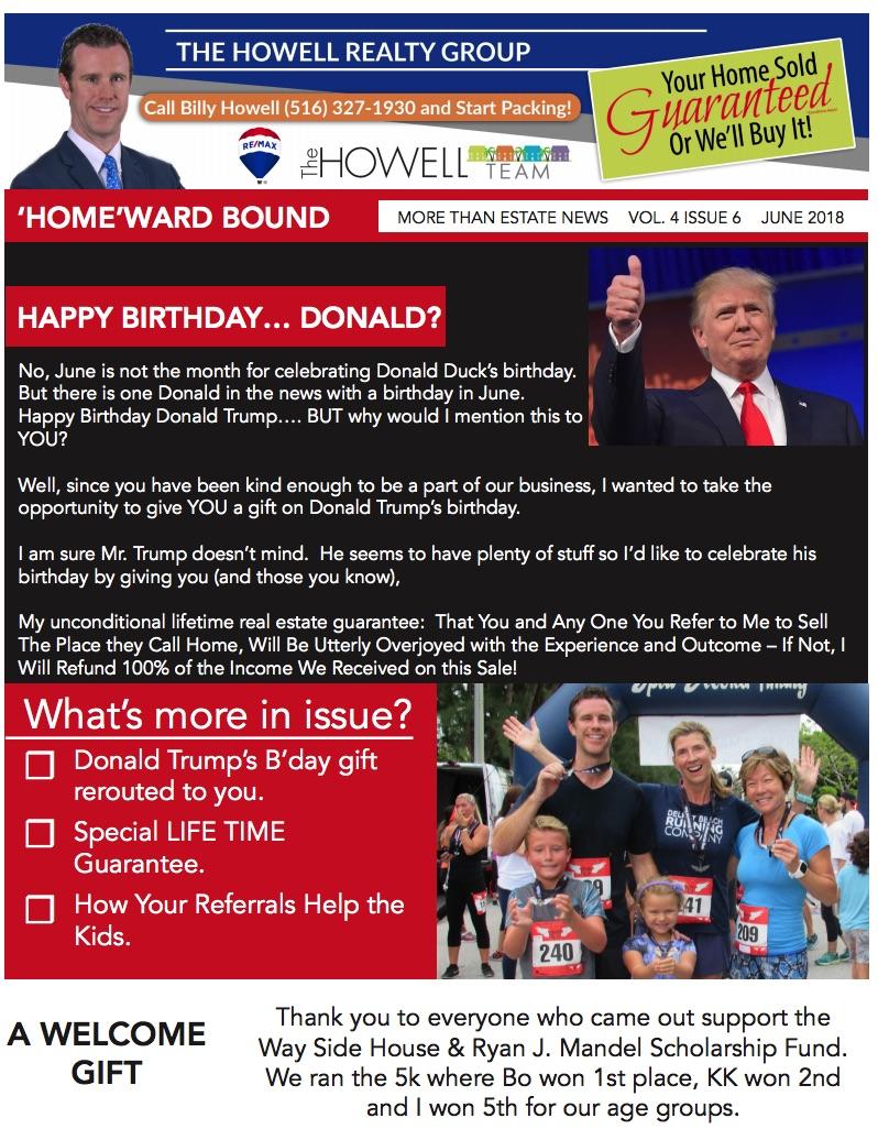 June 2018 Homeward Bound News Letter