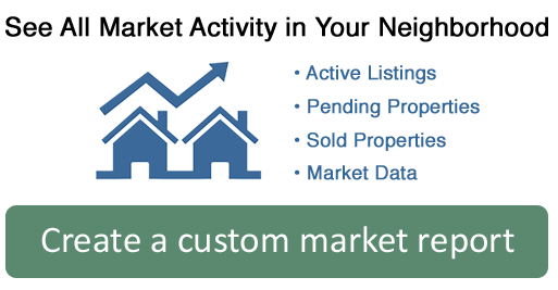 Custom real estate market report