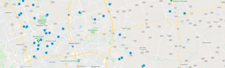 Hutto Interactive Map Search