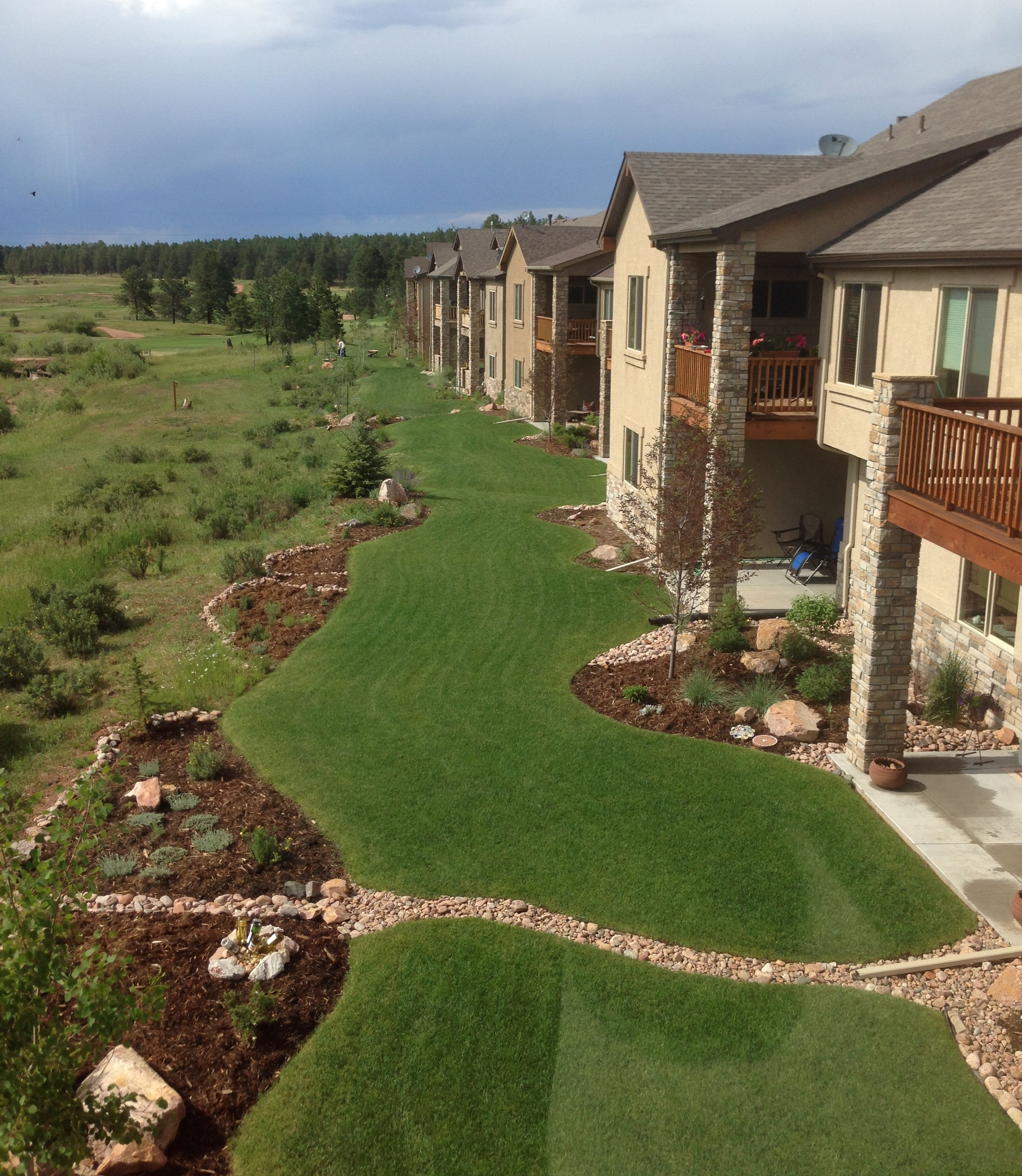 golf course townhome