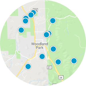 Trout Haven/Whispering Pines Real Estates Map Search