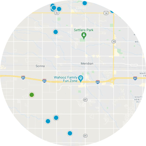 Interactive Map Search Of Meridian Idaho