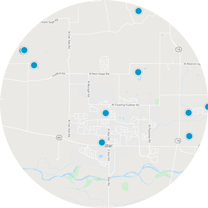 Interactive Map Search Of Star Idaho