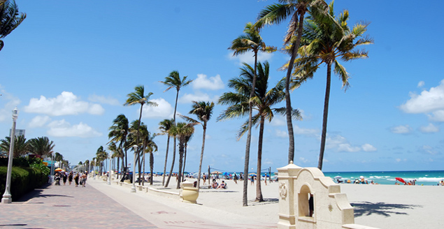 Hollywood Beach Miami Florida The Best Beaches In World