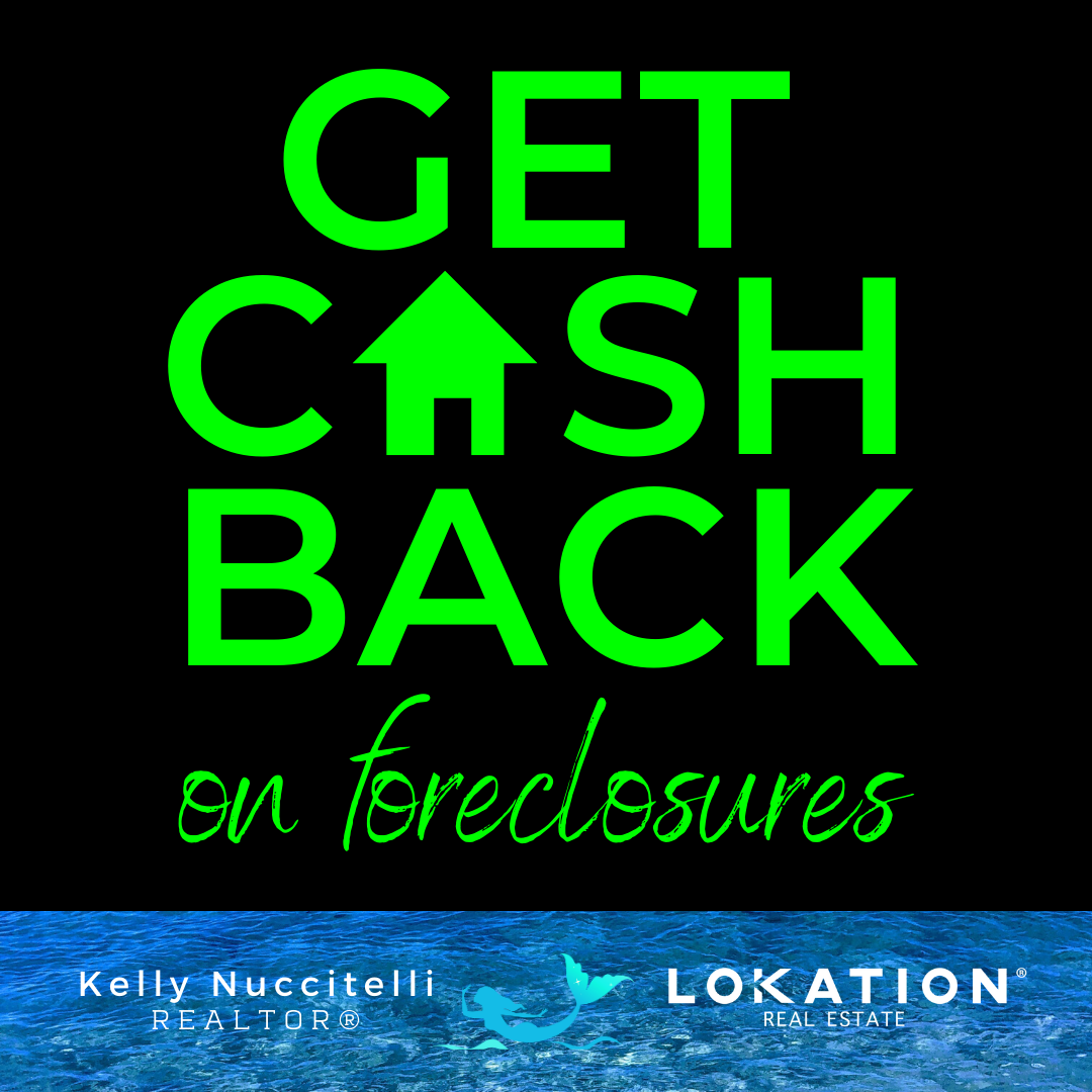 cash back on foreclosures