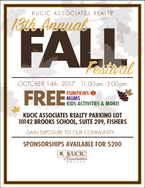 Fall Festival 2017- no sponsers