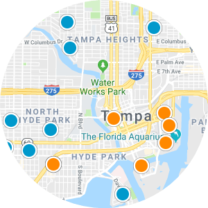 Carrollwood Real Estate Map Search