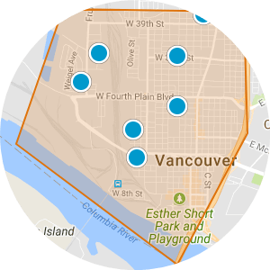 Downtown Vancouver Real Estate Map Search