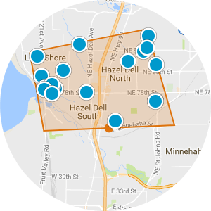 Hazel Dell Real Estate Map Search
