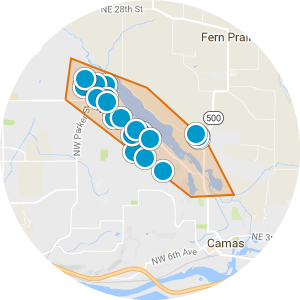 Lacamas Lake Real Estate Map Search