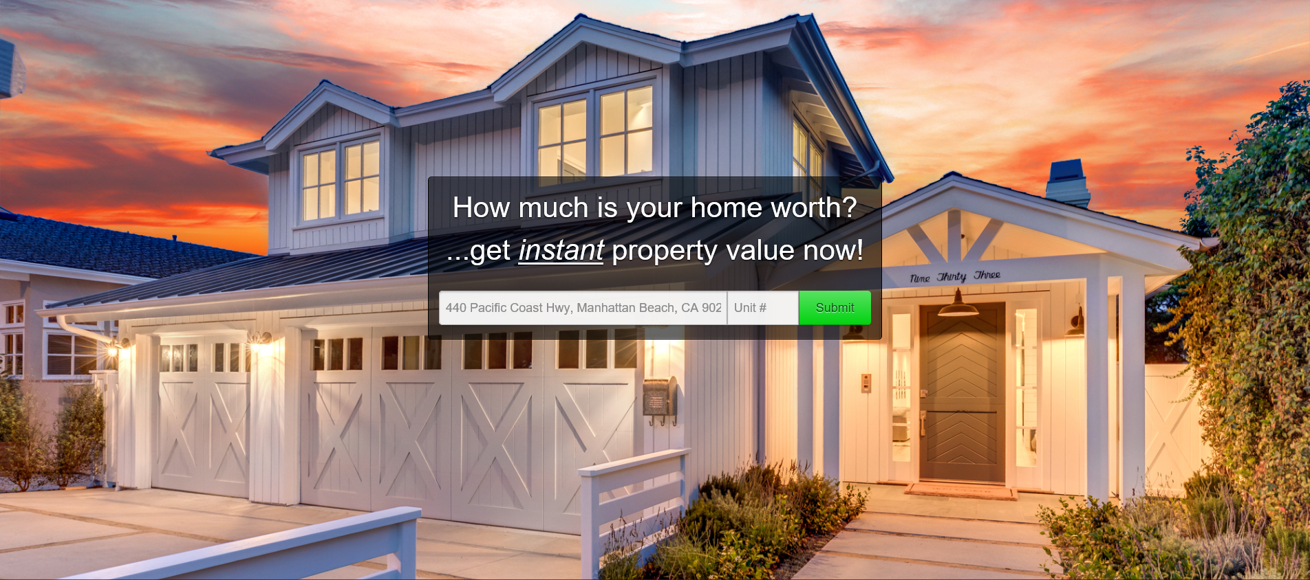 Redondo Beach Home Value