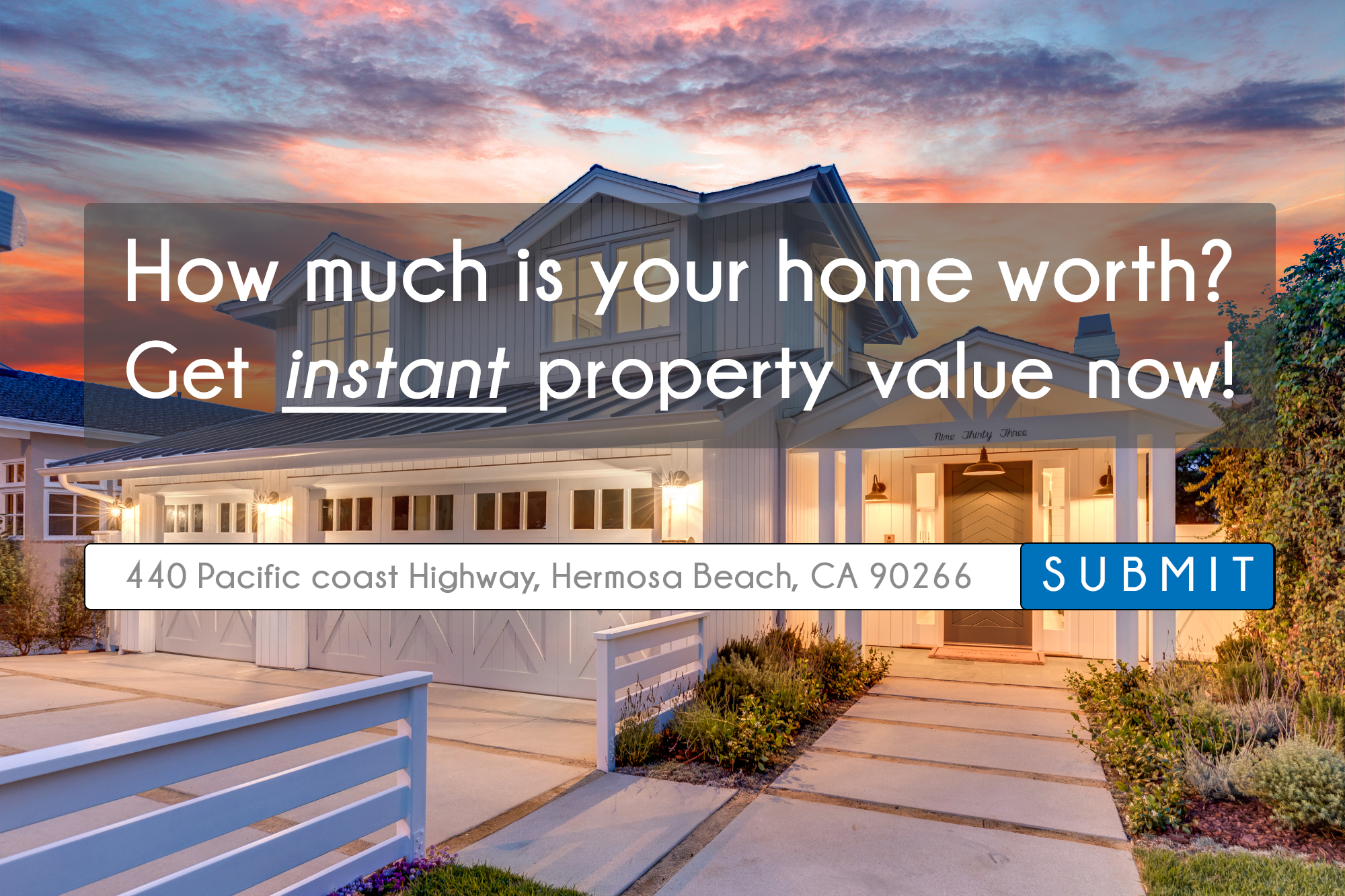 Get Instant Home Value