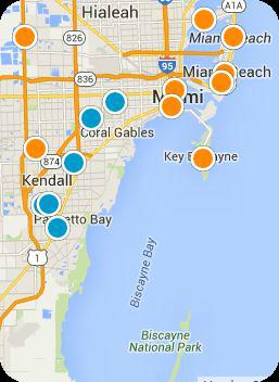Miami Real Estate Map