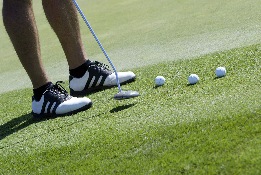 Grants Pass home owners play golf for kids.