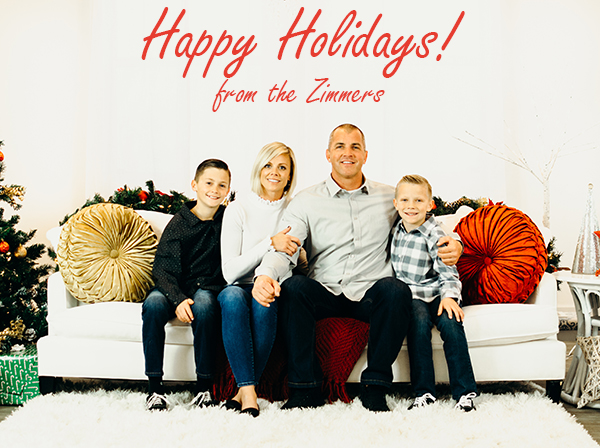 Happy Holidays! from the Zimmers