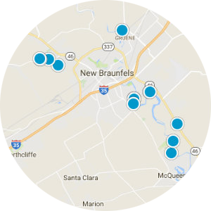 New Braunfels Real Estate Map Search