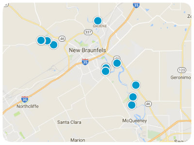 San Antonio Real Estate Map Search