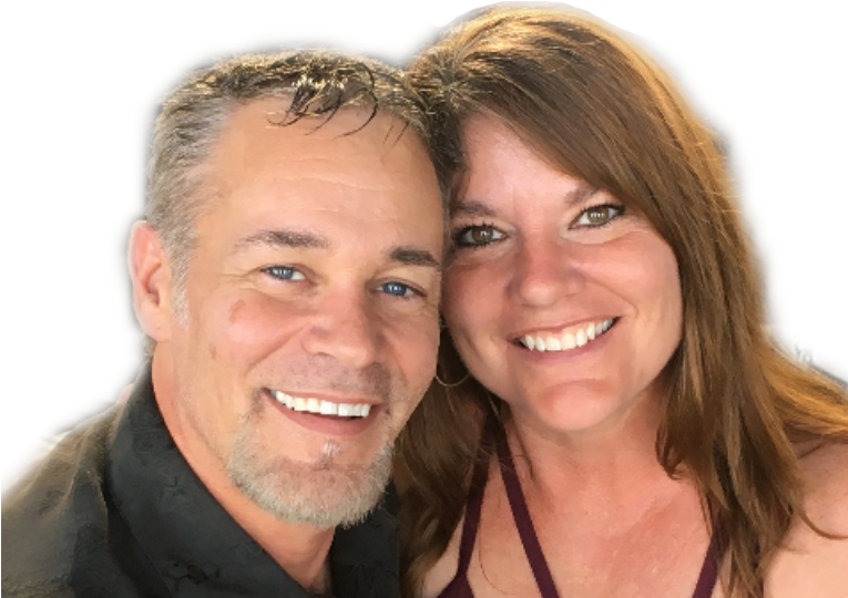 Troy Kehoe and Lisa Jay