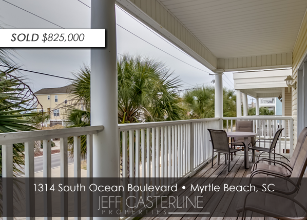 1314 S Ocean Blvd in Surfside Beach