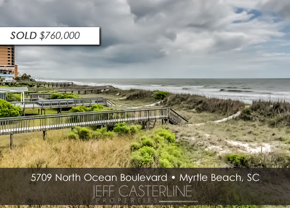 5709 N Ocean Blvd, Oceanfront Home in Myrtle Beach