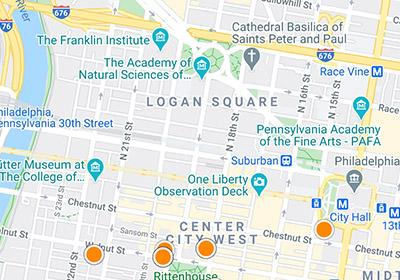 philadelphia mls search map