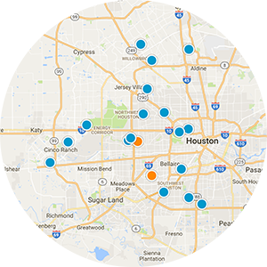 West Houston Real Estate Map Search