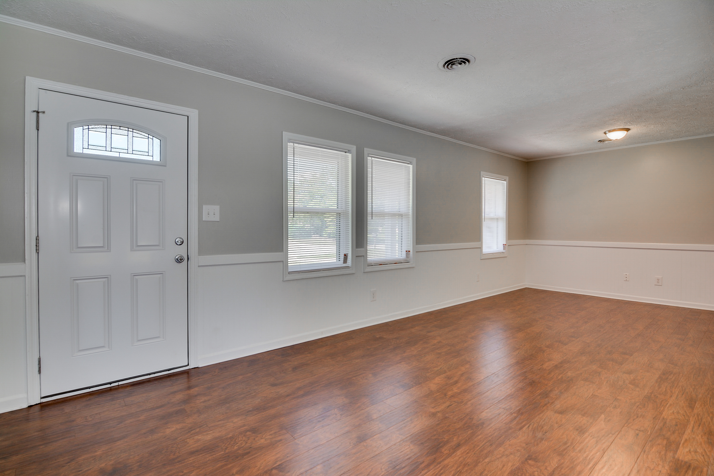 Spacious open ranch with beautiful updates jim hadden home sales eat in dream kitchen which features gleaming new granite countertops new stainless steel appliances and a ceramic tile floor french doors from dining dailygadgetfo Images