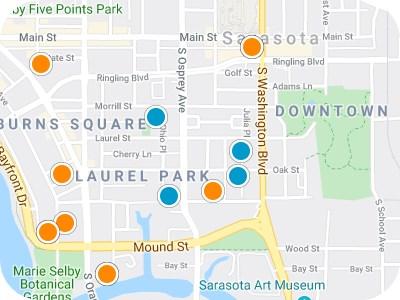 Sarasota Real Estate Map Search