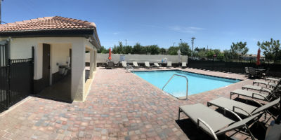 Community Pool at 1818 Parkway Condominium